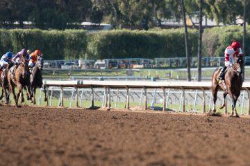 Songbird wins Las Virgenes Stakes