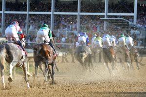 Kentucky Derby 1st Turn
