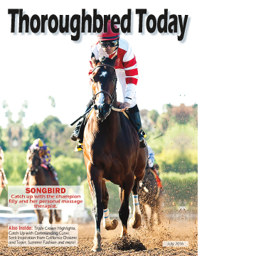 Thoroughbred Today July 2016